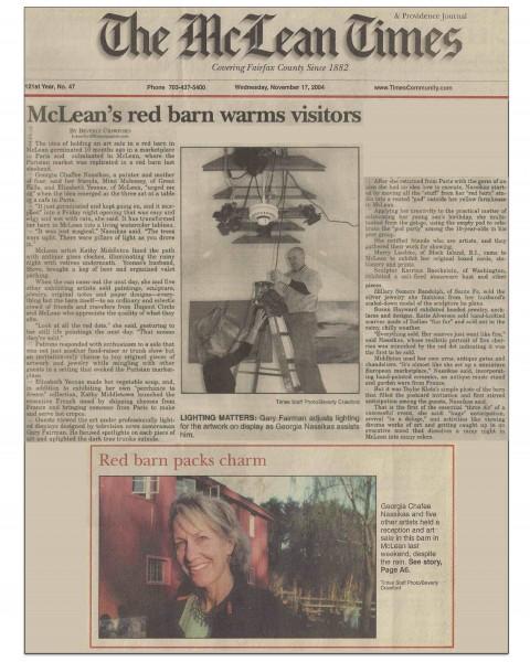 McLean Times Nov 2004
