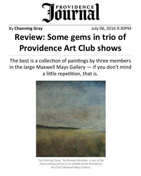 Nassikas PAC Providence Journal Review Thumbnail July 2016
