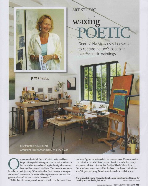 Waxing Poetic Home & Design Sept-Oct 2014