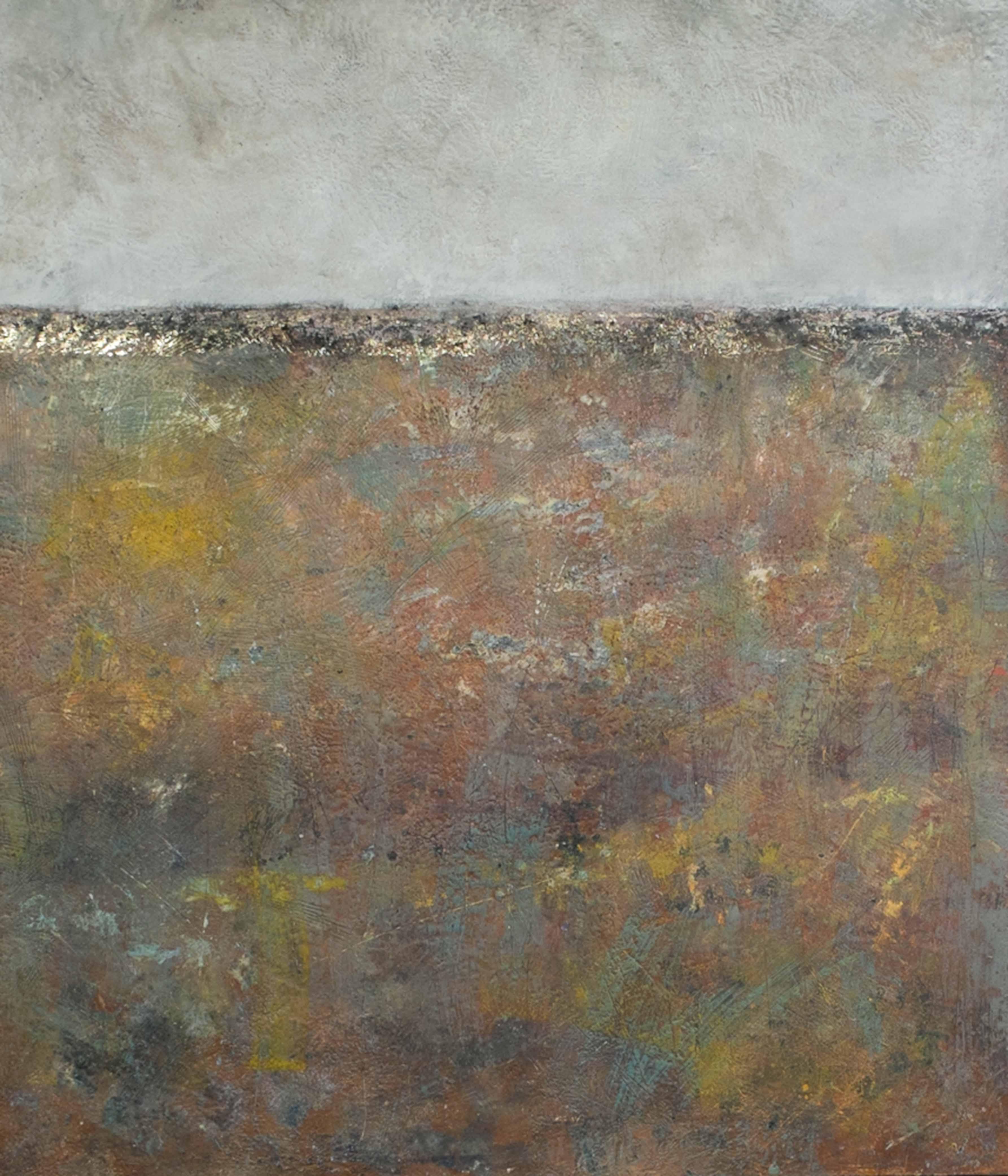 Earth Edge - Georgia Nassikas - Encaustic Art