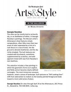 Washington Post - Arts & Style Magazine Cover