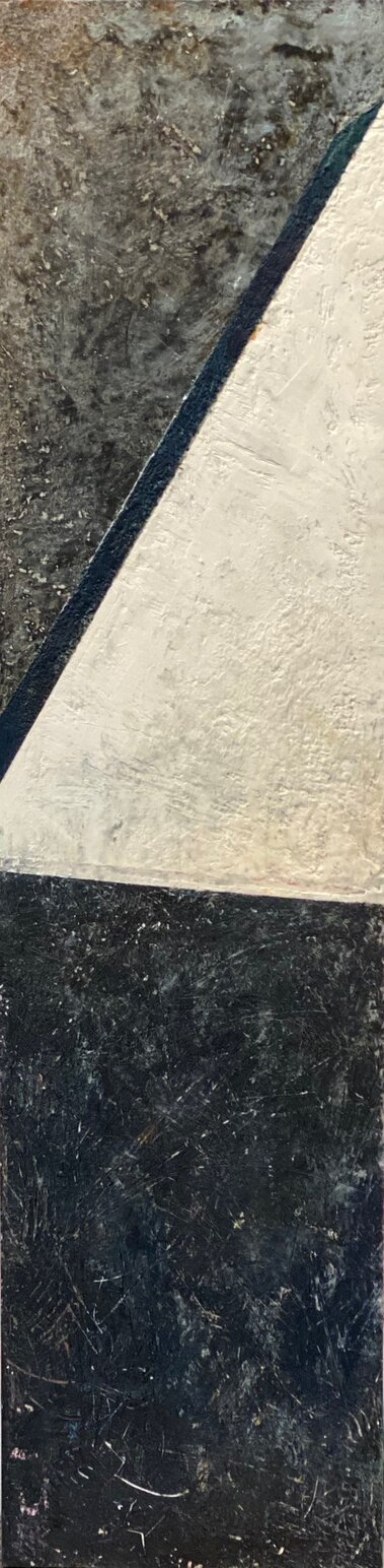 light edge encaustic on board 24x6
